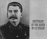 """Фотоальбом """"Столетие со дня рождения И.В. Сталина""""."""
