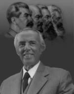 Маркс, Энгельс, Ленин, Сталин, Ходжа.