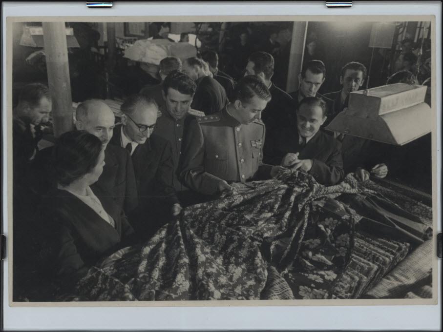 Пребывание в Москве Албанской правительственной делегации во главе с Председателем Совета Министров НРА генерал-полковником Энвером Ходжа. Март 1949 года.